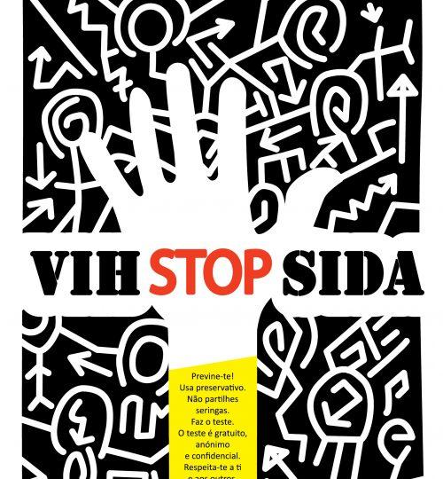 Cartaz VIH - Daniel Silva